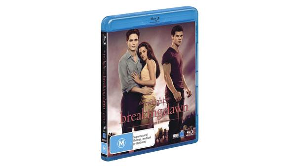 The Twilight Saga Breaking Dawn Part One Blu-ray