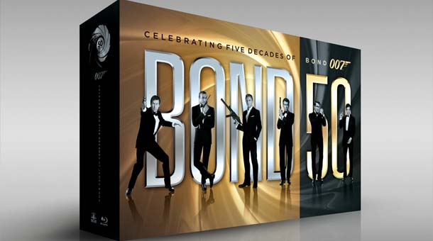 James Bond: 007 - BLU-RAY COLLECTION BOND 50