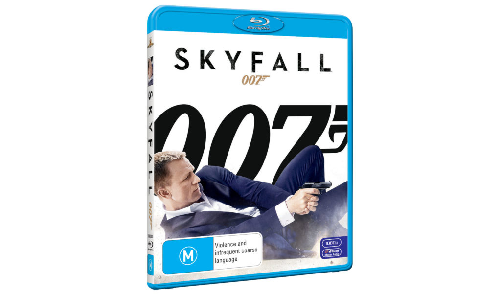 James Bond 007: Skyfall Australian Blu-ray cover